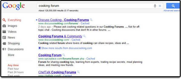 Forum Search