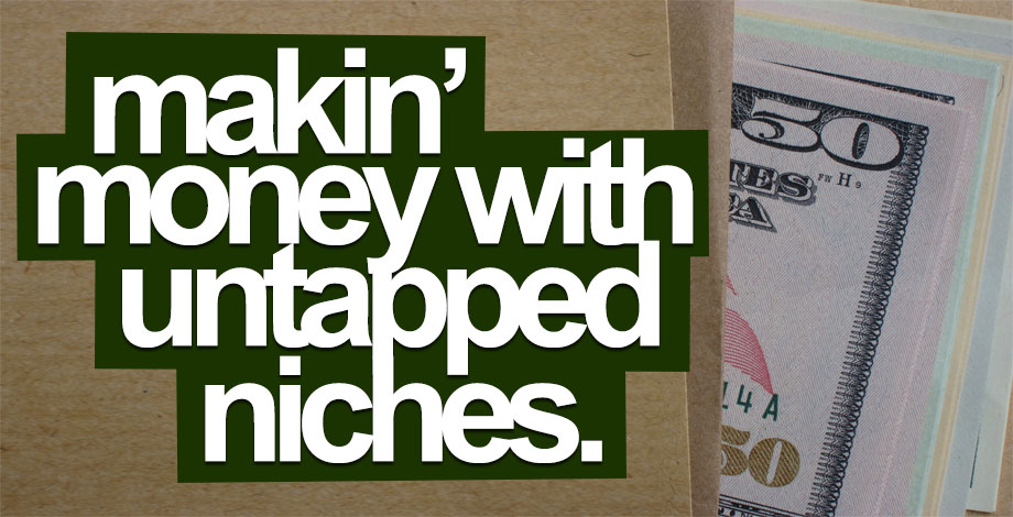 Making Money With Untapped Niches is Easy!