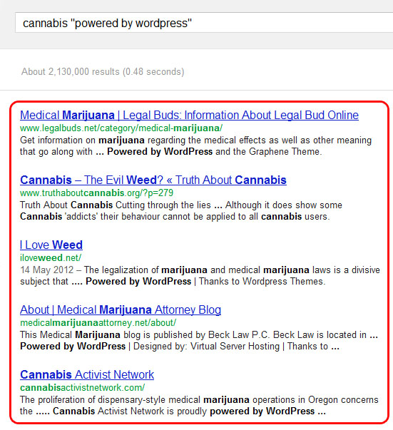 Cannabis Blog Footprints